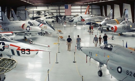 VIP Admission for Two or Four or a One-Year Individual or Family Membership at Yanks Air Museum (Up to 41% Off)
