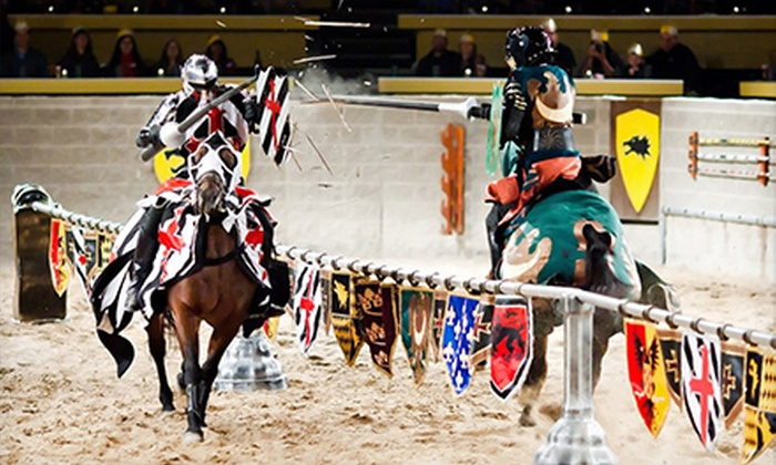 Medieval Times - Medieval Times: Knight Tournament and Feast for One, Two, or Four at Medieval Times (Up to 40% Off)