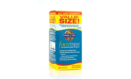 Garden of Life Fucothin Weight Loss Supplements (180 Capsules)