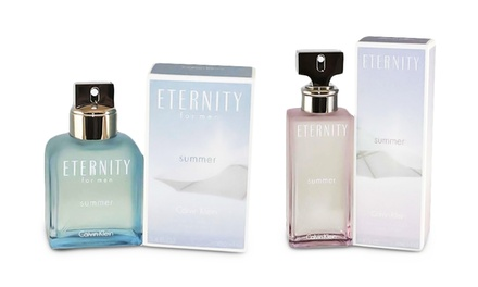Calvin Klein Eternity Summer Eau de Parfum for Women or Eau de Toilette for Men; 3.4 Fl. Oz.