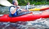 Paddle and Trail - Multiple Locations: Paddle-and-Dine Tour on Rock River, Turtle Creek, or Fox River for Two, Four, or Six from Paddle and Trail (Half Off)