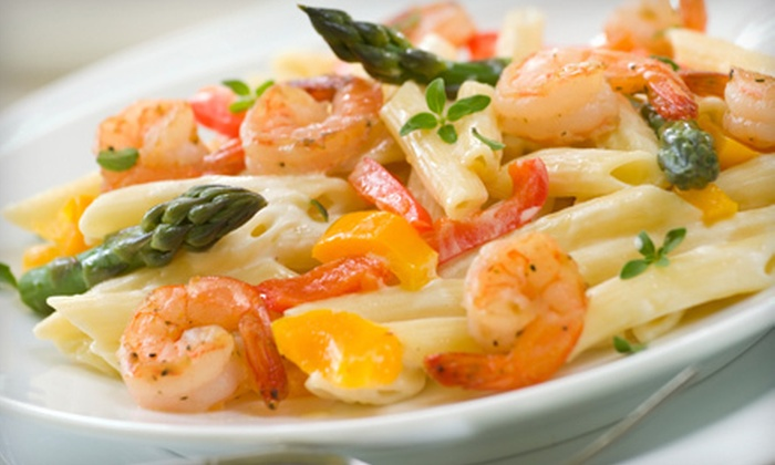 The Pasta Factory Company - West Miami: Italian Cuisine and Drinks at The Pasta Factory Company (Up to 53% Off). Two Options Available.