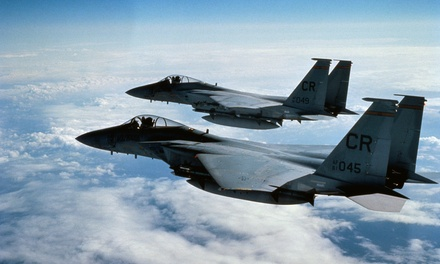 Air Combat Simulation Package for Two or Four at Squadron Ops Sim Center (Up to 50% Off)