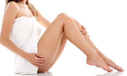 Six Laser Hair-Removal Treatments on a Small, Medium, or Large Area at Sanctuary Salon & Day Spa (Up to 85% Off)