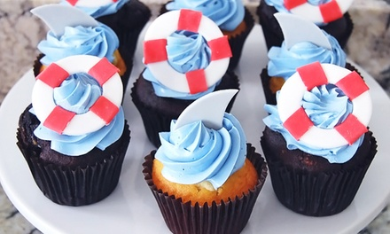 One or Two Dozen Gourmet Cupcakes at Simply Irresistible (Up to 50% Off)