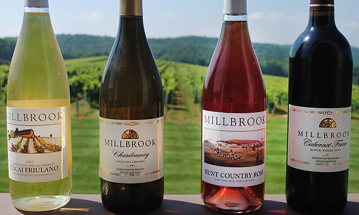 Millbrook Vineyards & Winery - Millbrook: Winery Tour and Tasting for Two, Four, or Six with Wine Glasses (Up to 53% Off)