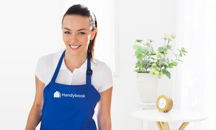 Two-, Three-, or Four-Hour House-Cleaning Session from Handybook (Up to 65% Off)