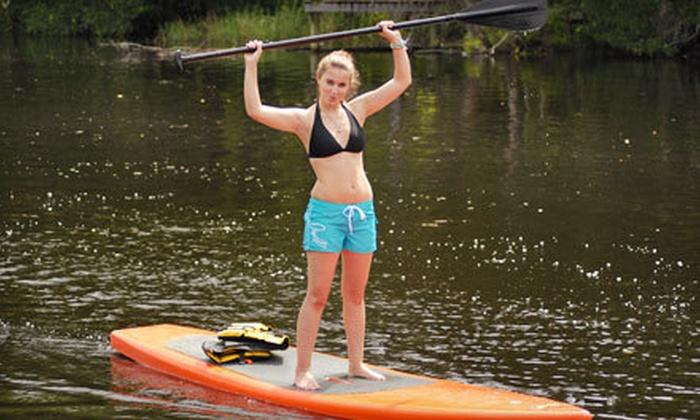 All Wet Sports - Southside: One-Hour Standup Paddleboard Lesson and Tour or All-Day Kayak Rental from All Wet Sports (Up to 55% Off)