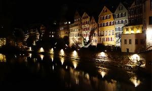 Oliver Rödiger OliKahn Stocherkahnfahrten: 90 Minuten Nachtwächtertour durch Tübingen für Zwei, Vier oder Sechs inkl. Glühwein mit OliKahn Stocherkahnfahrten