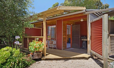 Ocean Grove: Up to 7-Night Getaway for Two People with Breakfast, Wine and Late Check-Out at Ocean Grove Cedar Cabins