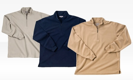 Zorrel Men's Wentworth Quarter-Zip Pullover. Multiple Colors Available.
