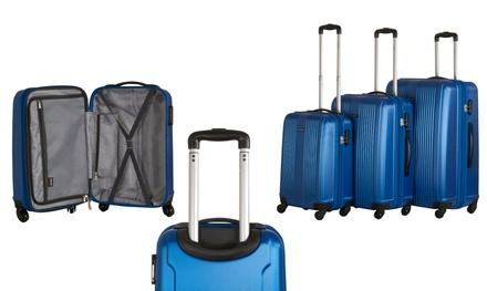 CalPak Torrino Lightweight Expandable Hardside Spinner Luggage (3-Piece)