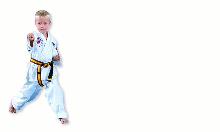 Karate America - Multiple Locations: 4 or 10 Krav-Maga, Kickboxing, or Tae-Kwon-Do Classes with Uniform at Karate America (Up to 85% Off)