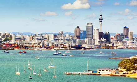 ✈7-Night New Zealand Vacation with Airfare from Travelscene.Price per Person Based on Double Occupancy.