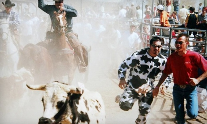 Running of the Bulls USA - Cave Creek: Spectator or Runner Passes for One or Two to Running of the Bulls USA on Saturday, October 20 (Up to 58% Off)