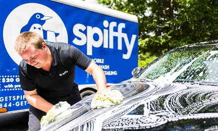 Mobile Car Detailing Package from Spiffy (Up to 51% Off). Two Options Available.