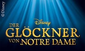"""Stage Entertainment: 1 Karte für das Disneys """"Der Glöckner von Notre Dame"""" im Stage Theater des Westens in Berlin (bis zu 41% sparen)"""