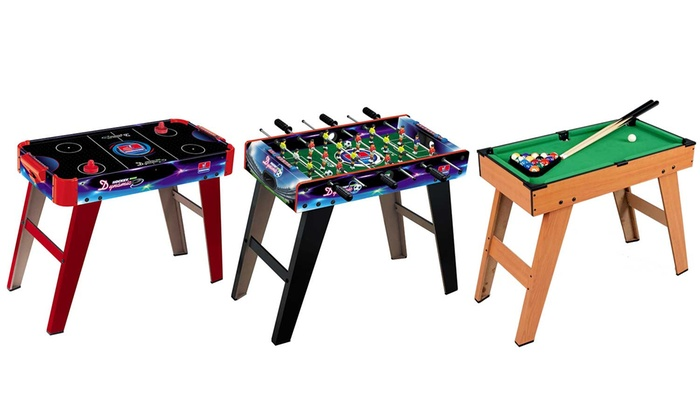 Groupon Goods Global GmbH: Air Hockey, Soccer or Pool Games Table
