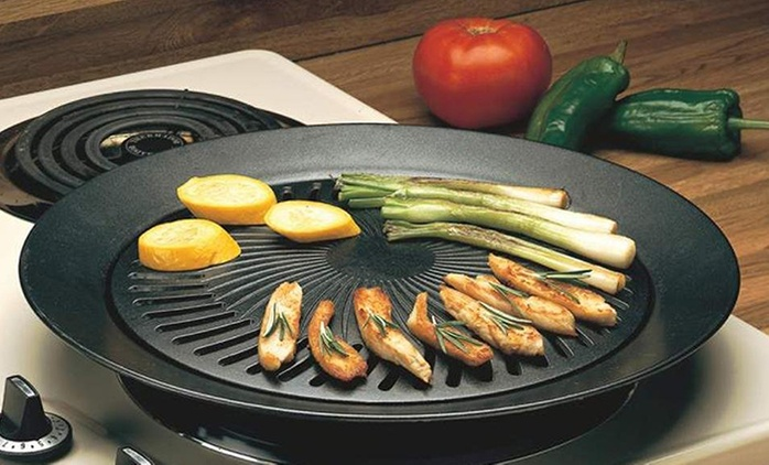 ChefMaster Stovetop BBQ Smokeless Indoor Grill for AED 59 (71% Off)