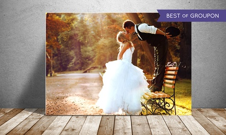 Custom Photo Print on Metal with Free Shipping from PrinterPix (Up to 86% Off). Three Options Available.
