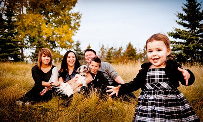 """Cocktail Photography - Edmonton: $65 for an Outdoor Photo Shoot with 25 Digital Images and Three 5""""x7"""" Prints from Cocktail Photography ($200 Value)"""