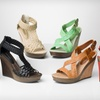 $34.99 for Bucco Braided Wedge Sandals