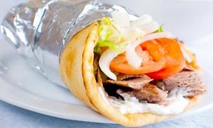 Stamna Greek Taverna: Greek Lunch or Dinner at Stamna Greek Taverna (Up to 40% Off)