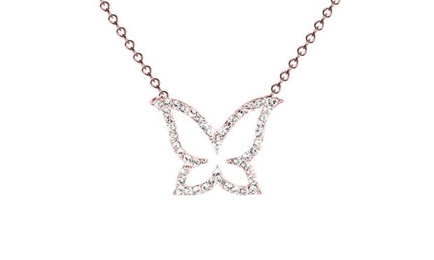 collier swarovski papillon
