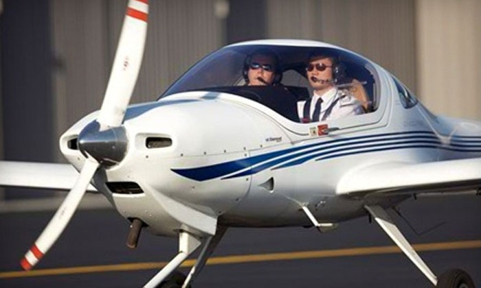 Falcon Aviation Academy - Multiple Locations: $99 for a One-Hour Flying Lesson with Briefings at Falcon Aviation Academy (Up to $199 Value)