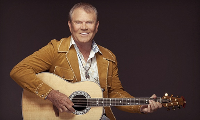 Glen Campbell: The Goodbye Tour - Evansville: $24 to See Glen Campbell: The Goodbye Tour at The Aiken Theatre at The Centre on June 9 at 8 p.m. (Up to $48.30 Value)