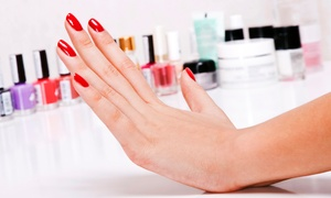 Glam & Tan: Gelish Manicure (£11) Plus Gelish Pedicure (£19) at Glam Tan (Up to 55% Off)