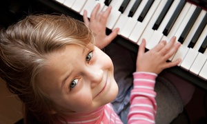 SuperMusic: Two or Four Private Piano, Guitar, or Voice Lessons at SuperMusic (Up to 51% Off)
