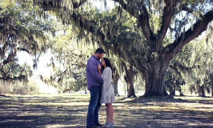 Brenda Ebel Photography - New Orleans: 60-Minute Engagement Photo Shoot with Wardrobe Changes and Digital Images from Brenda Ebel Photography (73% Off)