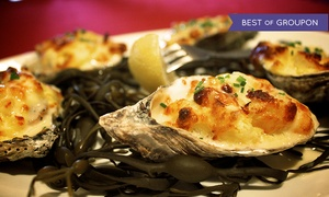 Pier701 Restaurant & Bar: Mediterranean-American Cuisine with French Twist for Two or Four at Pier701 Restaurant & Bar (Up to 41% Off)