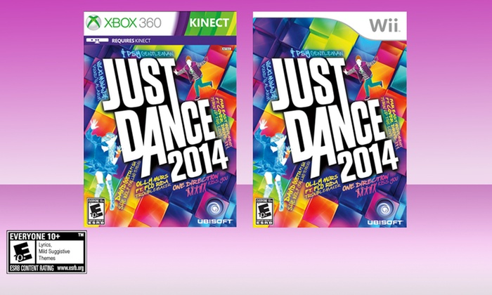 Just Dance 2014 for Wii, Xbox 360 Kinect, or PS3 Move: Just Dance 2014 for Wii or Xbox 360 Kinect