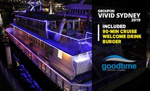 Vivid Cruise with Burger + Drink