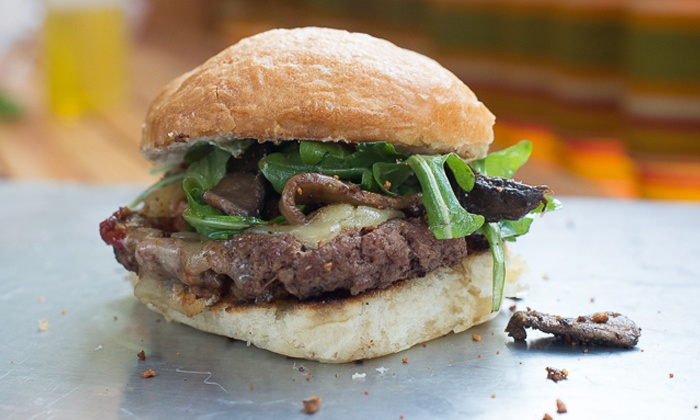 Dusty Buns Bistro - Soma: $12 for Four Groupons, Each Good for $5 Worth of Sandwiches at Dusty Buns Bistro ($20 Total Value)