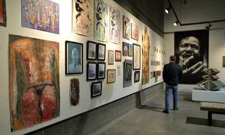 Admission to The Artist Studio Event for Two at RedLine (38% Off)
