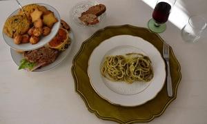 Acquacotta: Menu vegetariano con portate a scelta e calici di vino per 2 persone da Acquacotta (sconto 61%)