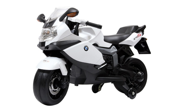 40% off on bmw ride-on motorcycle for kids | groupon goods