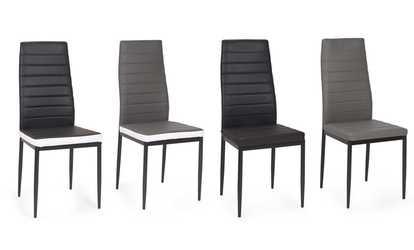 acheter sur groupon chaises de salle manger regilux - Lot 6 Chaises Scandinaves2126