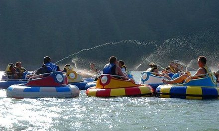 Inflatable Waterpark Visit or Bumper-Boat Ride with Squirt Guns at Harrison Watersports Inc. (Up to 31% Off)