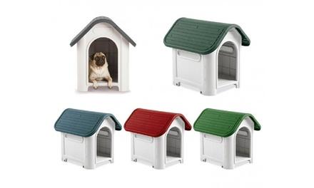 Casita de exterior para perros