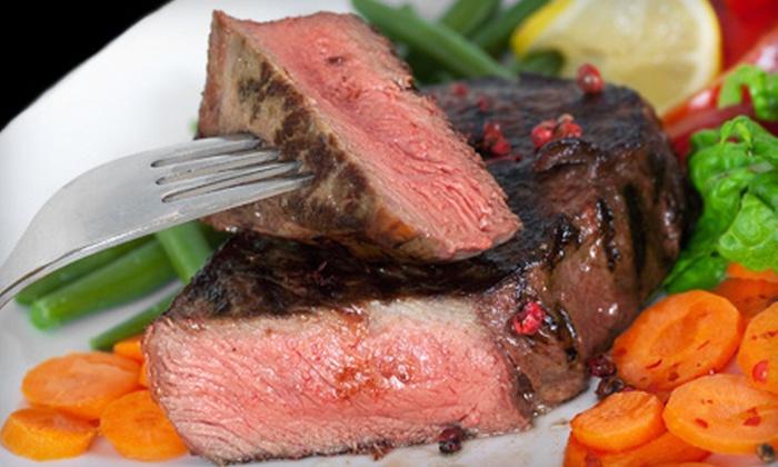 Myron's Prime Steakhouse - San Antonio: Steakhouse Dinner for Two or Four at Myron's Prime Steakhouse (Half Off)