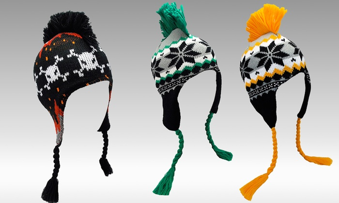 Kids' Peruvian Knit Hats: Kids' Peruvian Knit Hats. Multiple Styles Available.