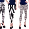 Black/White Print Leggings