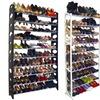 Maison Condelle 40- and 50-Pair Shoe Racks