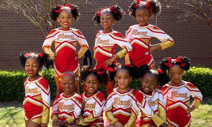 Bull City Heat Cheerleading - Durham: $25 for $100 Groupon — BULL CITY HEAT CHEER