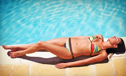 One or Three Airbrush-Tanning Sessions at Peanut's Hair Attraction (Up to 53% Off)