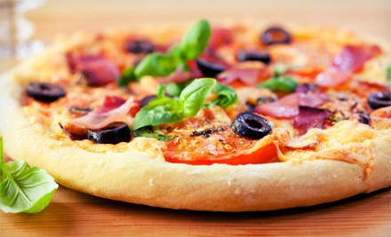 $36 for Three $25 Vouchers for American Food and Homemade Pizza at George Murphy's